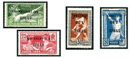 N°122/25, Jeux Olympiques De 1924, Les 4 Valeurs Surcharges Renversées, TB