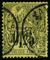 N°2, 0,25 Sur 1 F. Olive, Oblitéré, TB