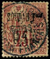 N°1, 0,15 Sur 75 C. Rose, Oblitéré, Réparé, Bel Aspect