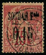 N°1, 0,15 Sur 75 C. Rose, Oblitéré, TB