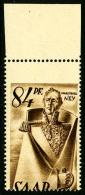N°214, 84 P. Sépia, Piquage à Cheval, Haut De Feuille, Superbe