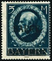 N°30, 5 M. Bleu, Forte Charnière Sinon TB