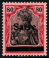 N°16, 80 P. Rouge Et Noir Sur Rose, TB