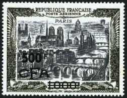 Poste Aérienne N°51, 500 F. Sur 1000 F. Paris, TB