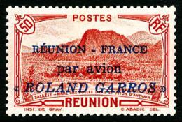 Poste Aérienne N°1, 50 C. Rouge, Roland Garros, TB