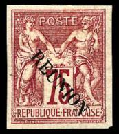 N°15(B), 75 C. Carmin, Sans Accent, TB