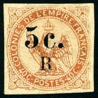N°3, 5 C. Sur 40 C. Vermillon, Léger Clair Sinon TB