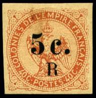 N°3, 5 C. Sur 40 C. Vermillon, TB