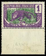 N°25b, 1 C. Lilas-rose Et Vert-bleu, Sans Surcharge, Bas De Feuille, Superbe