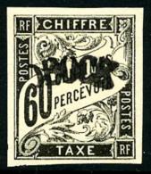 Taxe N°4, 60 C. Noir, TB