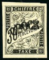 Taxe N°3, 30 C. Noir, TB