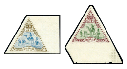 N°63/64, Les 2 Valeurs Bord De Feuille, Superbe