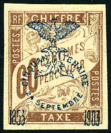 Taxe N°13, 60 C. Brun Sur Chamois, TB