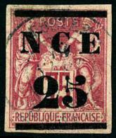 N°5, 25 Sur 75 C. Rose, Oblitéré, Léger Clair, Bel Aspect