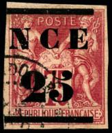 N°5, 25 Sur 75 C. Rose, Oblitéré, TB