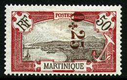 N°109, 25 C. Sur 50 C. Rouge, TB