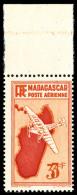 Poste Aérienne N°18b, 3 F. Orange, Double Impression De La Valeur, Haut De Feuille, Superbe