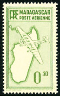 Poste Aérienne Type Non-adopté De 1935-38 0,50 Vert, Rouge Omis, Superbe