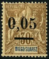N°59(I), 0,05 Sur 30 C. Brun, Surcharge Type I, TB
