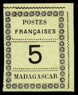 N°8, 5 C. Noir Sur Azuré, TB