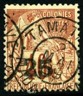 N°3, 25 Sur 40 C. Rouge-orange, Oblitéré, TB