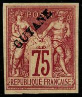 N°14, 75 C. Carmin, Sans Point, TB