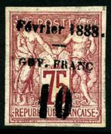 N°9a, 10 Sur 75 C. Carmin, TB