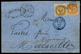 Colonies Générales N°3 Et 5, Oblitérés Losange De Points Sur LAC Avec Càd De Caye