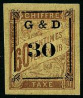 Taxe N°13, 30 Sur 60 C. Brun Sur Chamois, Superbe