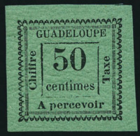 Taxe N°12a, 50 C. Vert-bleu, TB