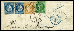 Colonies Générales N°17 (déf.), 19, 23 (x2 Déf.), Oblitérés Losange GPE Su