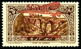 Non-émis : Surcharge Bilingue De 1928-30 Sur Timbre De Syrie 3 Pi. Brun, Superbe