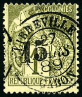 N°7, 15 Sur 1 F. Olive, Oblitéré, TB