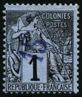 N°1, 15 Sur 1 C. Noir Sur Azuré, TB