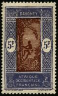 N°83b, (10 F. Sur) 5 F. Violet Et Brun-jaune, Sans Surcharge, TB