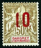 N°41, 10 Sur 50 C. Bistre Et Rouge, TB