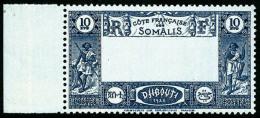 N°168a, 10 F. Bleu Foncé, Centre Omis, Bord De Feuille, Superbe