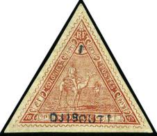 N°4, 1 (franc) Sur 5 Franc Rouge, TB