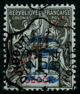 N°3, 50 C. Sur 1 C. Noir Sur Azuré, Oblitéré, TB