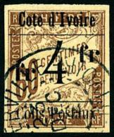 Colis Postaux N°11, 4 F. Sur 60 C. Brun Sur Chamois, Oblitéré, TB
