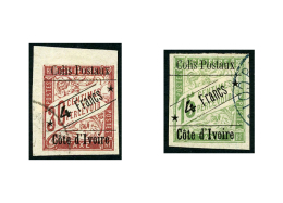 Colis Postaux N°9 Et 10, Les 2 Valeurs Oblitérées, TB