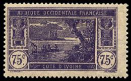N°59a, (60 C. Sur) 75 C. Violet Sur Rose, Sans Surcharge, TB