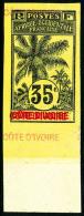 N°29, 35 C. Noir Sur Jaune Clair, Quintuple Légende, Non-dentelé, Bas De Feuille, Superbe