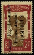 N°52, 2 F. Carmin Et Brun, TB