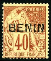 N°11, 40 C. Rouge-orange, TB
