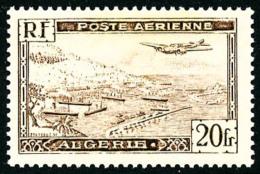 Poste Aérienne N°4A, 20 F. Brun, Type II, Superbe