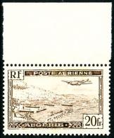 Poste Aérienne N°4A, 20 F. Brun, Type II, Haut De Feuille, Superbe
