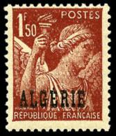 N°233a, (2 F. Sur) 1 F.50 Rouge-brun, Sans Surcharge 2 F., TB
