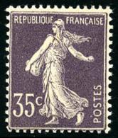 N°136, 35 C. Violet Clair, Superbe