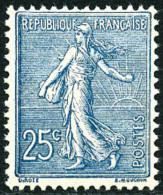 N°132, 25 C. Bleu, Superbe